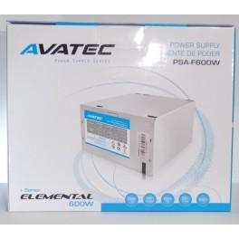 Fuente poder Avatec Box F600W PSA-F600W