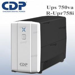 Ups CDP R-UPR758I, 750VA, 375W, 220V, 8 tomas, interactivo