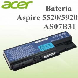 Bateria Acer Aspire 5520/5920 AS07B31