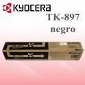 Toner Kyocera 205C Negro TK-897K