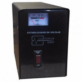 Estabilizador Elise Ieda Poder Safe LCR-15, Solido, 1.5kVA, 220VAC, 4 tomas a 220VAC