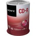 Cono Sony Cd-R Cono x 100 unidades 100CDQ80SP