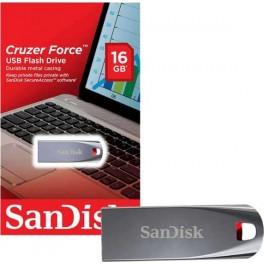 Memoria USB SanDisk Cruzer Force, 16GB, USB 2.0, SDCZ71-016G-B35