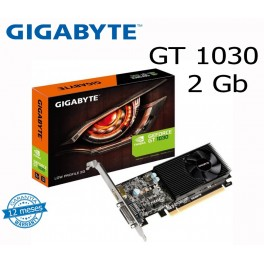 Tarjeta de video Gigabyte Nvidia GeForce GT 1030, 2GB GDDR5 64-bit, PCI-e 3.0, LowProfile