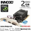 Tarjeta de Video Inno3D Nvidia GT710 2GB N710-1SDV-E3BX