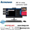 "Pc Lenovo 520 All in One, 23.8"" FHD, AMD Ryzen 3 2200GE 3.2GHz, 4GB DDR4, 1TB SATA F0DN003NLD"