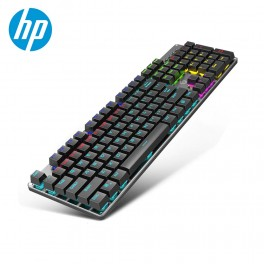 Teclado Mecanico Hp Gaming Gk100 Rainbow Black