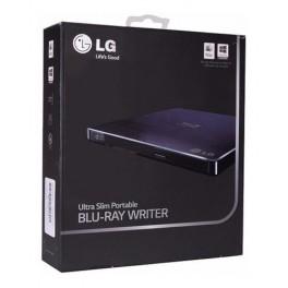 Blu-ray/ DVD Writer LG BP50NB40, 6x, Slim, externo, portátil, USB 2.0