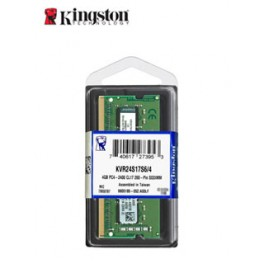 Memoria Kingston 4 Gb KVR24S17S6/4, 4GB, DDR4, SODIMM, 2400 MHz, CL17