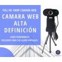 Camara Web Full HD 1080P USB con tripode F36 Ramko