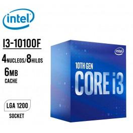 Procesador Intel Core i3-10100F, 3.60 GHz, 6 MB Caché L3, LGA1200, 65W, 14 nm BX8070110100F