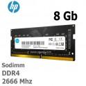 Memoria Hp 8Gb S1 Series, DDR4, SODIMM, 2666 MHz, 1.2V 7EH98AA