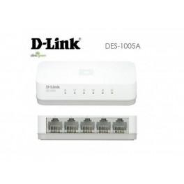 Switch D-Link DES-1005A, 5 RJ-45 10/100 Mbps, Auto MDI/MDI-X, Presentación en caja