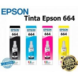 Tinta Epson 664 para L200 Negro T664120