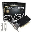 Tarjeta de video Evga Nvidia GeForce 210, 1GB DDR3 64-bit, HDMI/DVI/VGA, PCI-E 2.0 x16 01G-P3-1313-KR