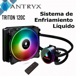 Sistema de Enfriamiento Liquido Antryx Triton ML120C ARGB AWC-T120C