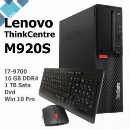 Computadora Lenovo ThinkCentre M920s, Intel Core i7-9700 3.00GHz, 16GB DDR4, 1TB SATA