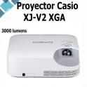 Proyector Casio XJ-V2 3000-Lumen XGA DLP Proyector Core Series LampFree