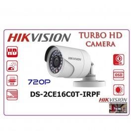 Camara Hikvision DS-2CE16C0T-IRPF 720p Exterior Plastica