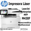 Impresora Hp LaserJet Enterprise MFP M430f Multifuncional Monocromatico