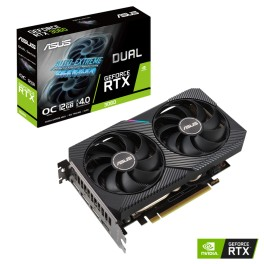 Tarjeta de video Asus Dual Geforce RTX 3060 V2 OC Edition 12GB GDDR6 Cuda 3584 192-BIT DUAL-RTX3060-O12G-V2